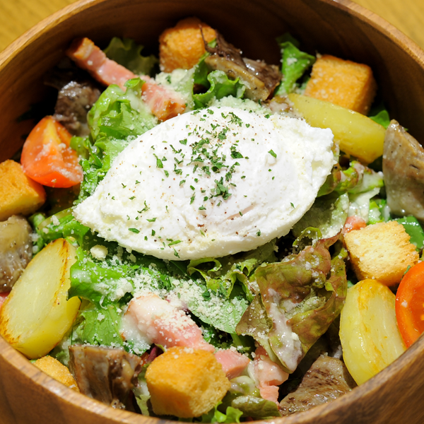 リヨン風サラダ+砂肝コンフィ
